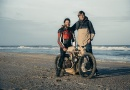 Нідерландці створили дерев'яний мотоцикл, що пересувається на пальному з водоростей